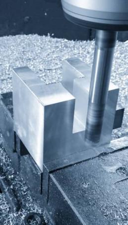 Fresatura in corso Metal Steel