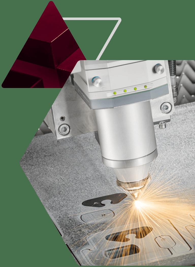 Taglio laser di precisione Metal Steel