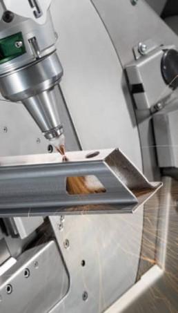 Taglio laser tubo 2 Metal Steel