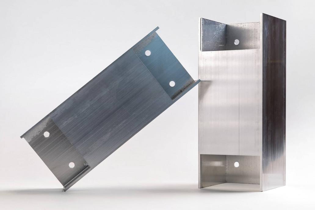 Taglio laser tubo alluminio 1