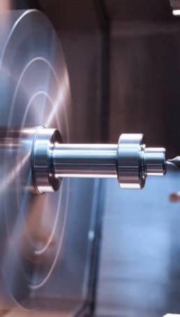 Tornitura in corso Metal Steel